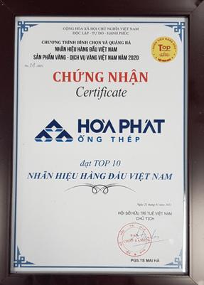 Chung Nhan Thep Hoa Phat